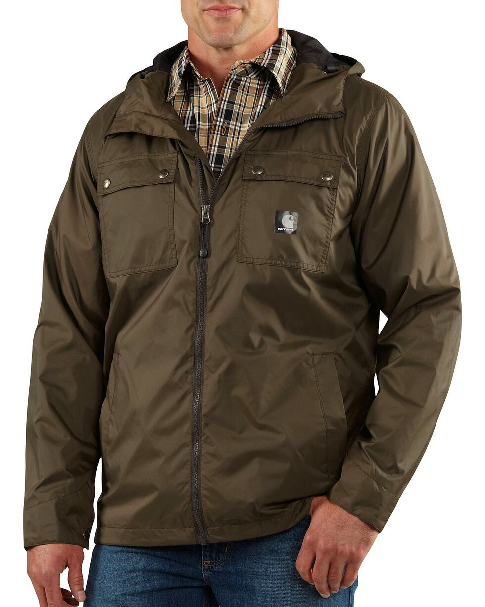 Carhartt Rockford Nylon Jacket, Green, hi-res