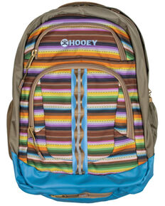 HOOey Ox Tan Serape Backpack, Tan, hi-res