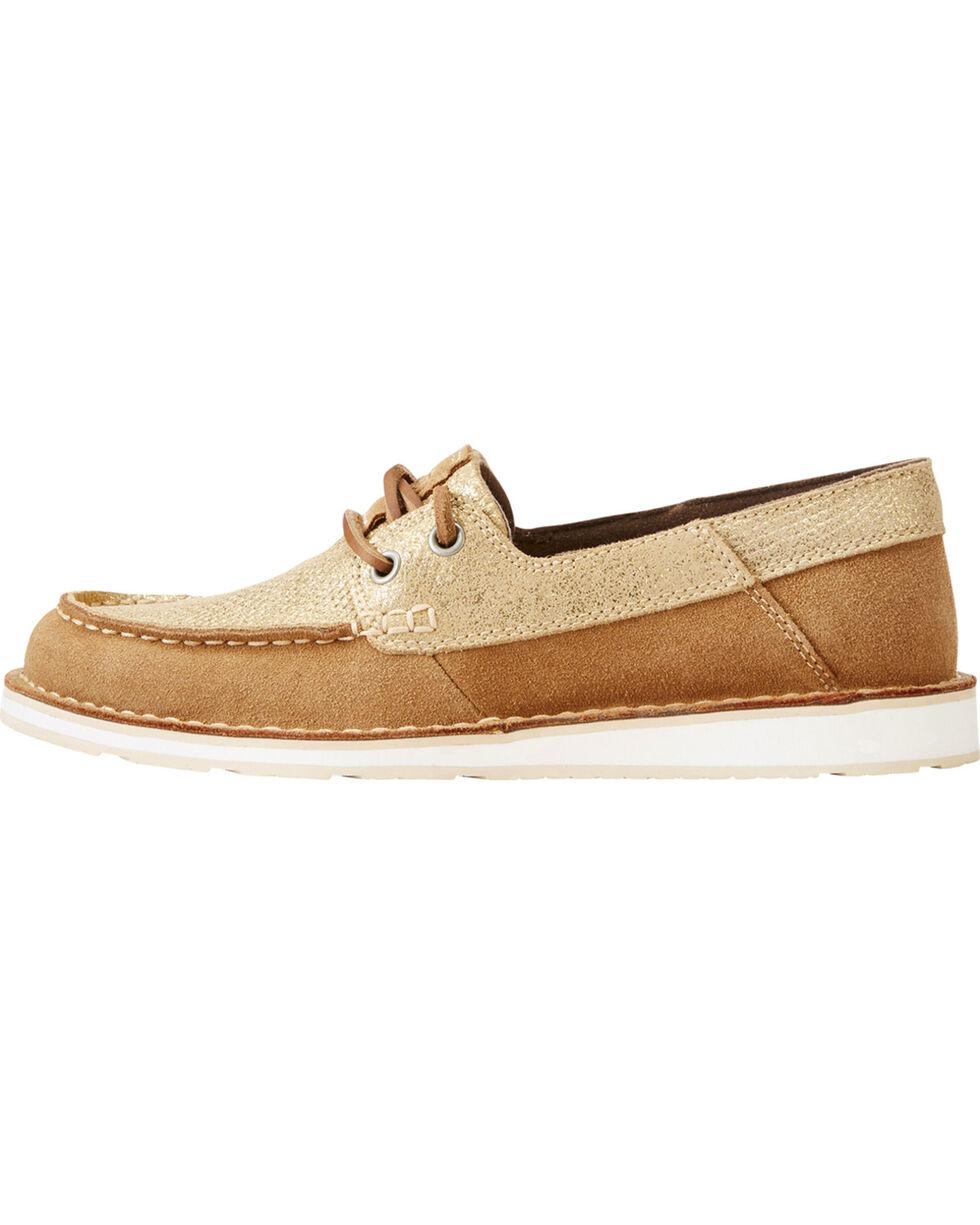 Ariat Women's Brown Cruiser Castaway Shoes , Brown, hi-res