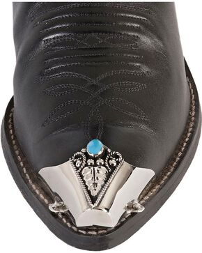 Western Express Fancy Stone Boot Tips, Turquoise, hi-res