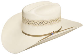 Resistol 10X Wildfire Straw Cowboy Hat, Natural, hi-res