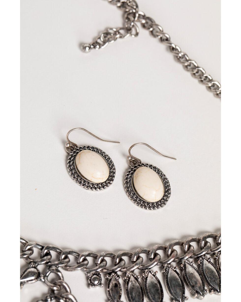 Shyanne Women's Sandstone Multi-Layer Metal Jewelry Set, Sand, hi-res