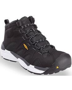 Keen Men's San Antonio Work Boots - Aluminum Toe, Black, hi-res
