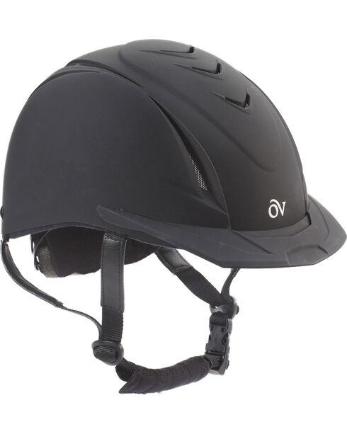 Ovation Kids' Schooler Deluxe Riding Helmet, Black, hi-res