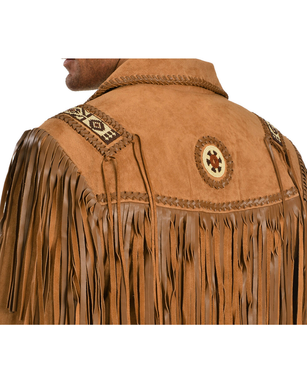 Scully Fringed Suede Leather Coat - Tall, Buck Tan, hi-res