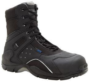 Rocky 1st Med Puncture-Resistant Side-Zip Waterproof Boots - Composite Toe, Black, hi-res