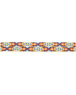 Multi Color Beaded Hatband, Multi, hi-res