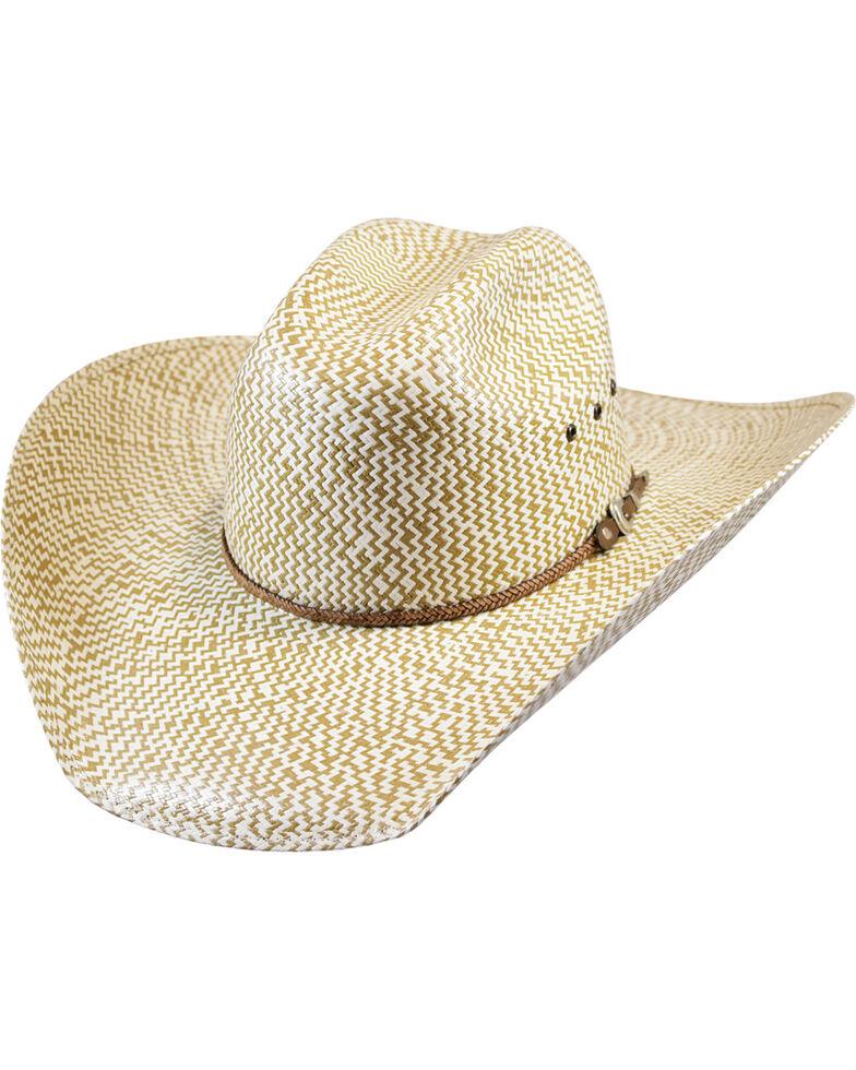Justin Men s Tan Bent Rail Brawley Straw Cowboy Hat  2cdd87b7a8d