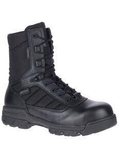 Bates Men's UltraLite Waterproof Work Boots - Composite Toe, Black, hi-res