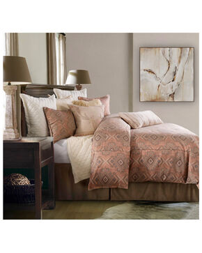 HiEnd Accents Twin 2 Piece Sedona Comforter Set , Pink, hi-res