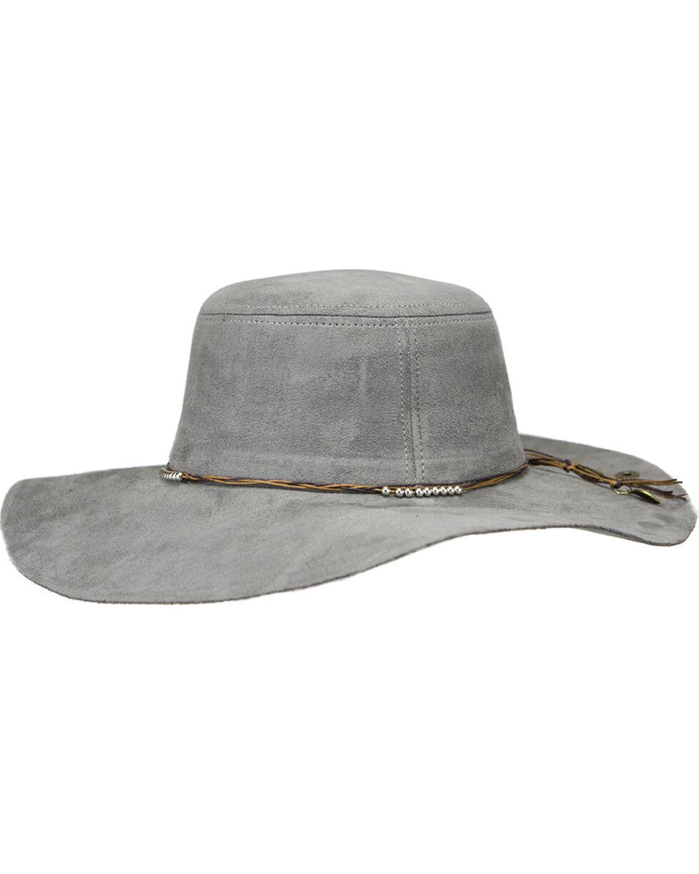 Peter Grimm Ltd Women's Sacson Floppy Hat , Grey, hi-res