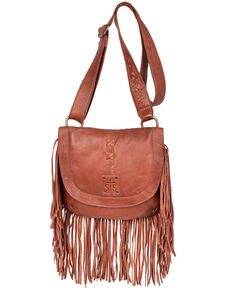 STS Ranchwear Women's Daydreamer Crossbody Bag, Red/brown, hi-res