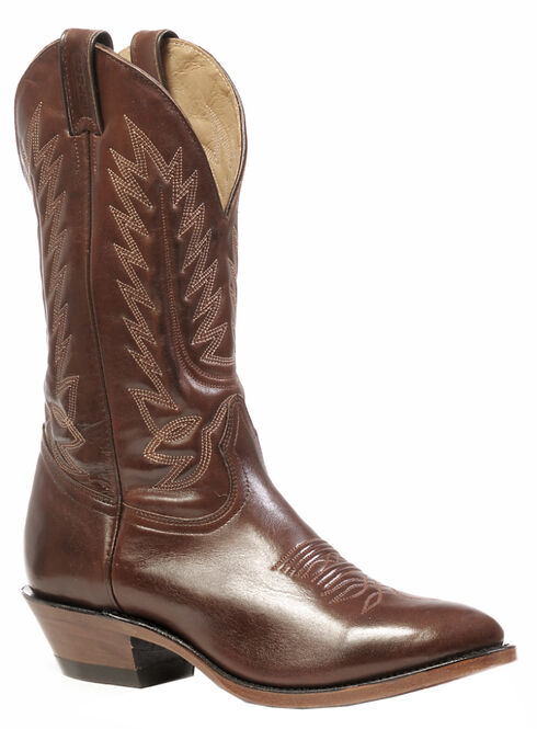 Boulet Ranch Hand Tan Boots - Medium Toe, Ranch Tan, hi-res