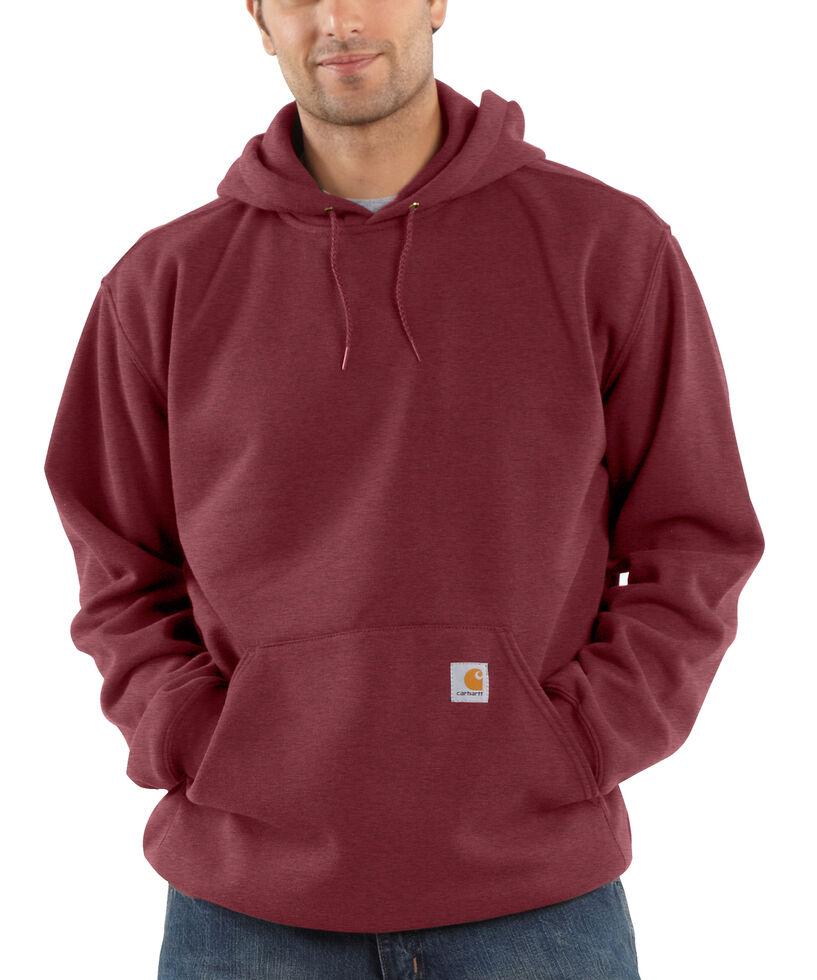 Carhartt Hooded Sweatshirt - Big & Tall, Burgundy, hi-res