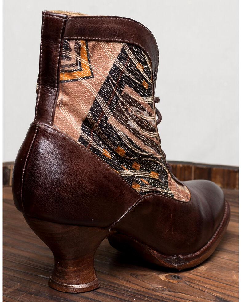 Oak Tree Farm Jacquelyn Brown Boots - Medium Toe, Brown, hi-res