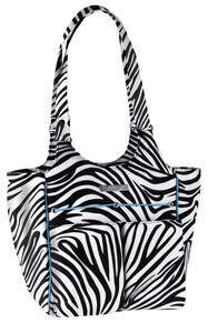 Ariat Carry All Zebra Bag, Zebra, hi-res