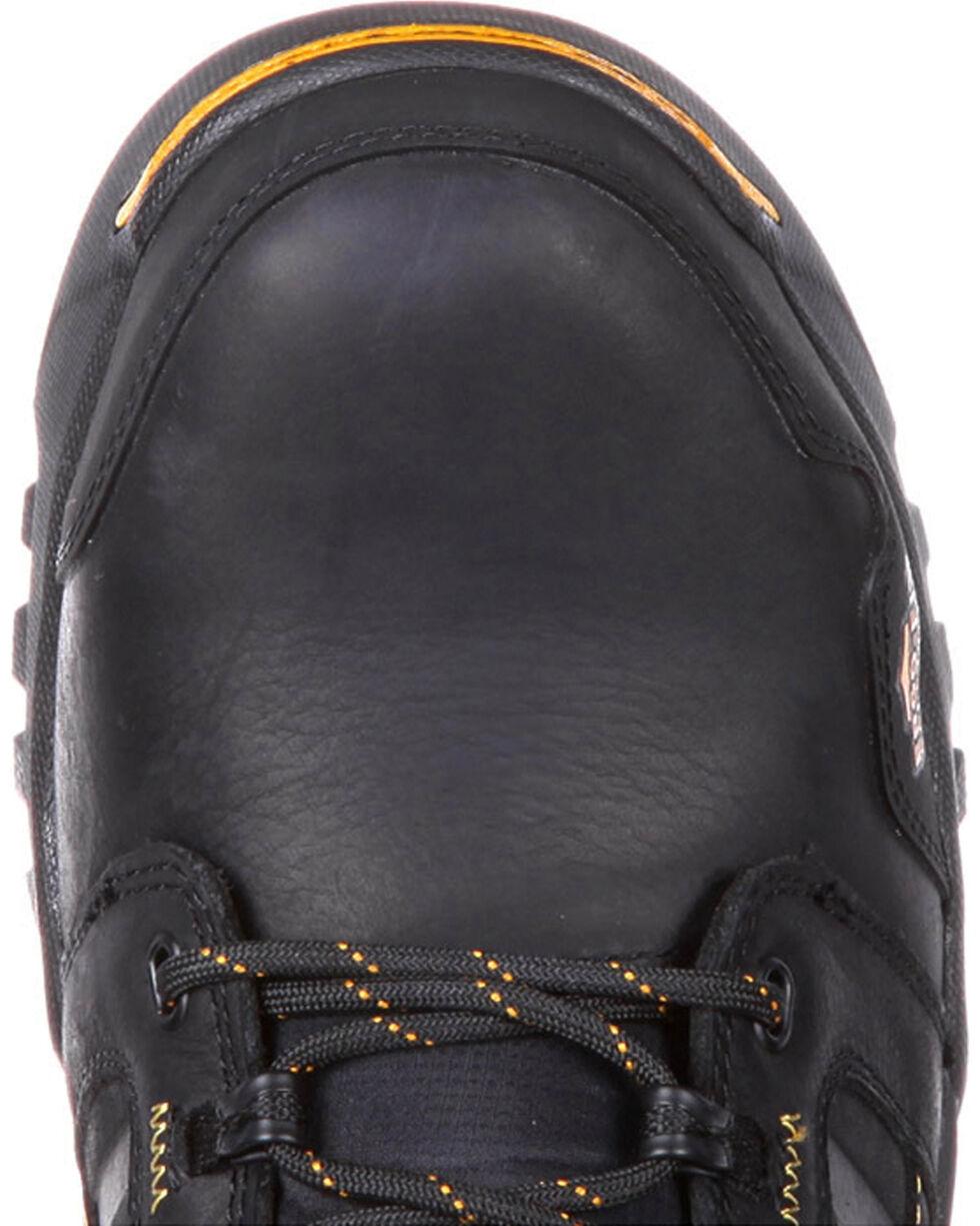 "Georgia Men's Black Amplitude Waterproof 6"" Boots - Composite Toe , Black, hi-res"
