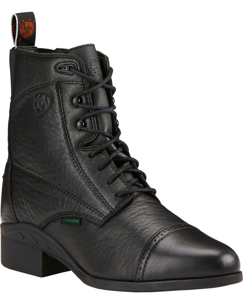 Ariat Women's Heritage Breeze Lace Paddock Boots, Black, hi-res
