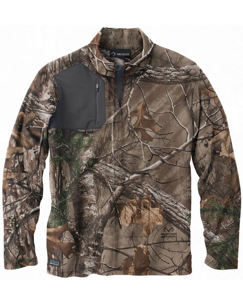 Dri Duck Men's Realtree AP Xtra Camo Fleece Pullover , Camouflage, hi-res