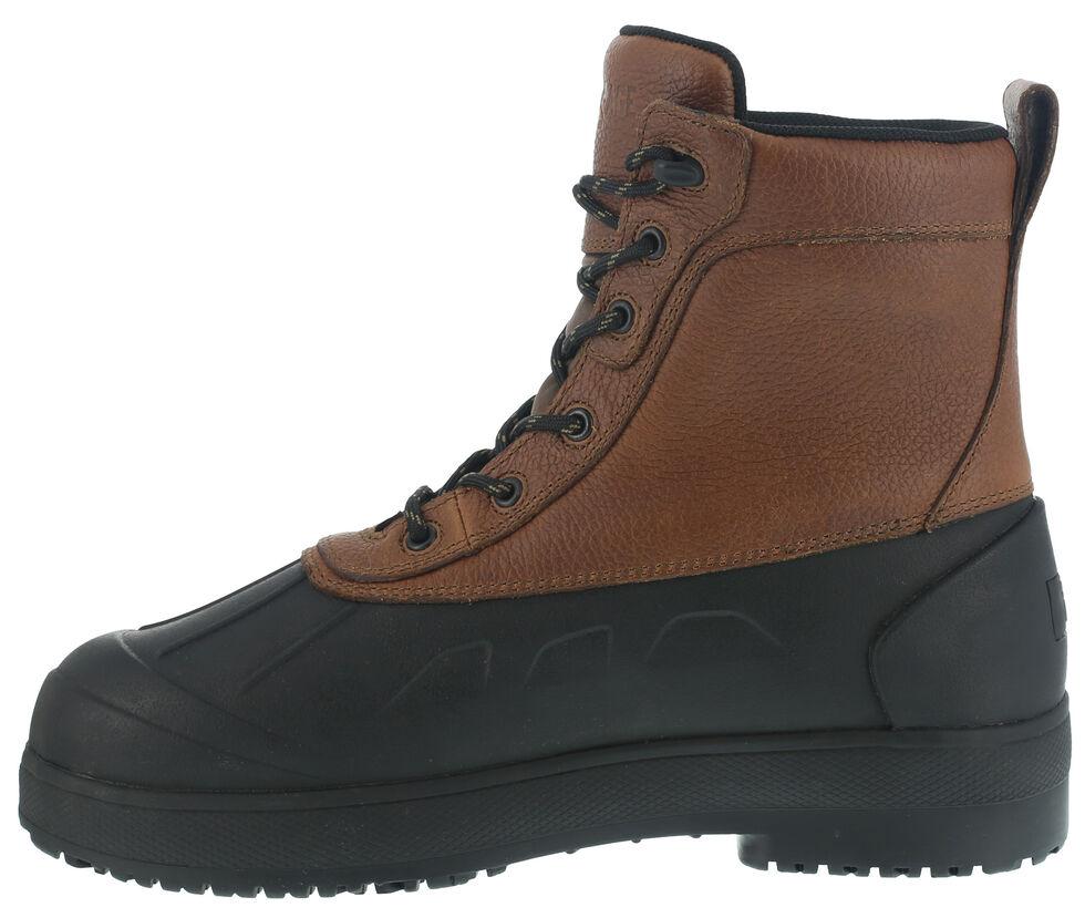 Iron Age Women's Duck Waterproof Work Boots - Steel Toe, Black, hi-res