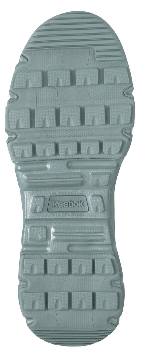 "Reebok Men's Dauntless 8"" Lace-Up with Side Zip Work Boots - Composite Toe, Sage, hi-res"