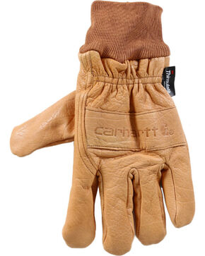 Carhartt Men's Work & Garden Gloves , Brown, hi-res