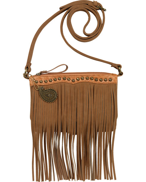 Bandana by American West Sun Valley Fringe Crossbody Bag, , hi-res