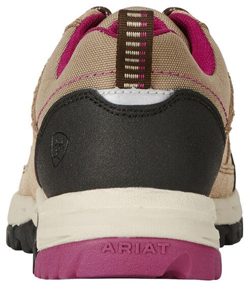 Ariat Women's Tan Skyline Lo Lace Shoes, Tan, hi-res