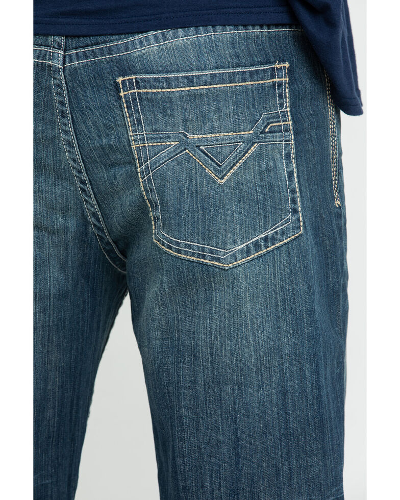 Cody James Men's Tahoe Rigid Relaxed Bootcut Jeans , Blue, hi-res
