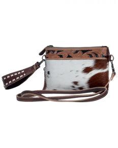 Myra Bag Women's Streaks Delight Belt Bag, Brown, hi-res