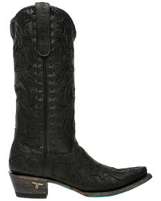 Lane Women's Robin Western Boots - Snip Toe, Black, hi-res