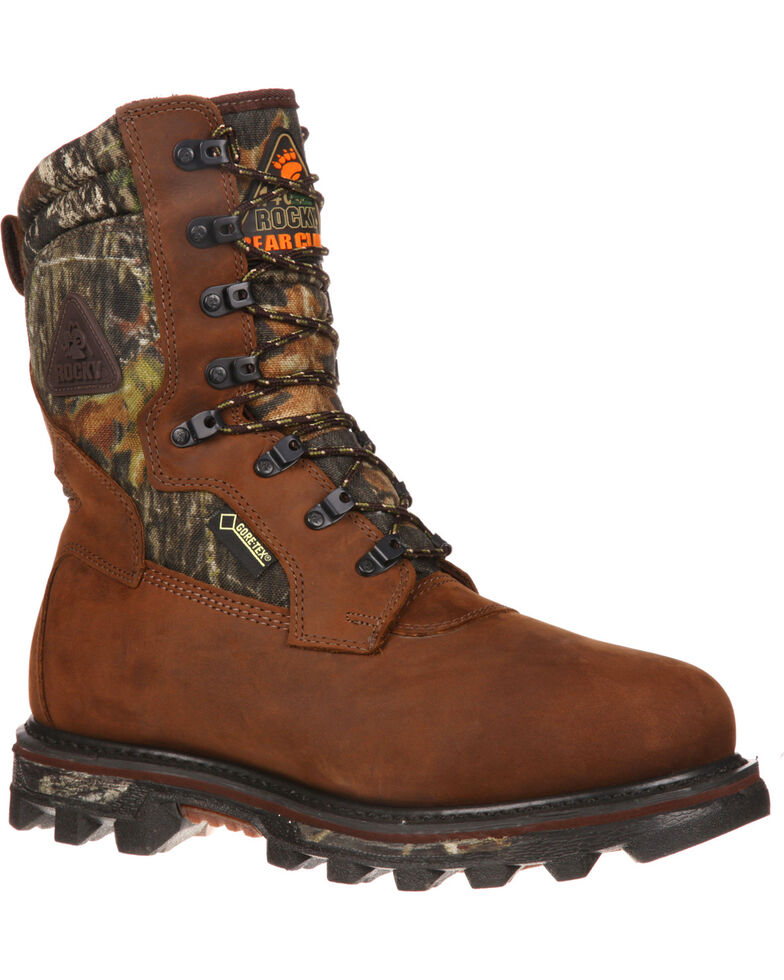 """Rocky 10"""" Arctic BearClaw Gore-Tex Waterproof Insulated Outdoor Boots, Brown, hi-res"""