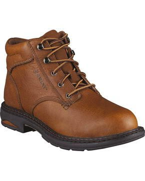 Ariat Women's Macey Work Boots - Round To, Peanut, hi-res