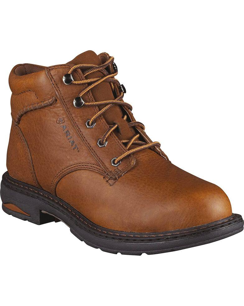 Ariat Women's Macey Work Boots - Round Toe, Peanut, hi-res