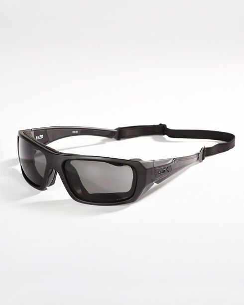 Wiley X Enzo Grey Lens Climate Control Sunglasses , Grey, hi-res