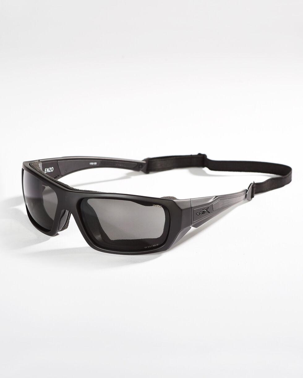 Wiley X Enzo Grey Lens Climate Control Sunglasses , Grey, hi-res
