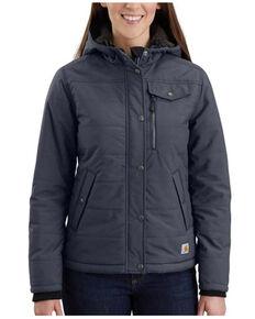 Carhartt Women's Bluestone Utility Jacket - Plus, Blue, hi-res