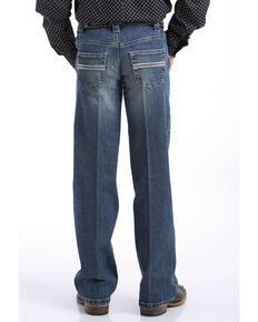 Cinch Boys' Carter Medium Stone Regular Bootcut Jeans , Indigo, hi-res