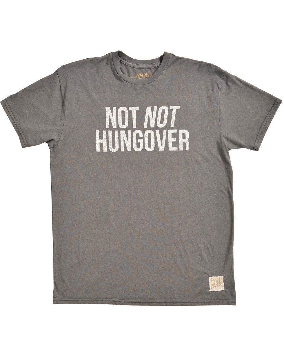 Original Retro Brand Men's Not Not Hungover Tee, Charcoal, hi-res