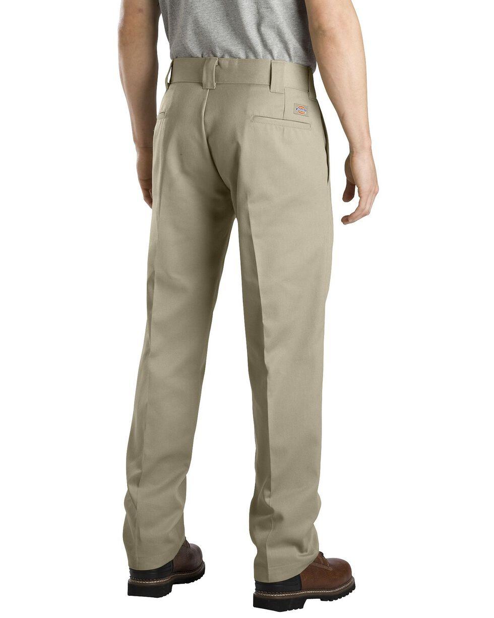 Dickies Slim Straight Work Pants, Khaki, hi-res