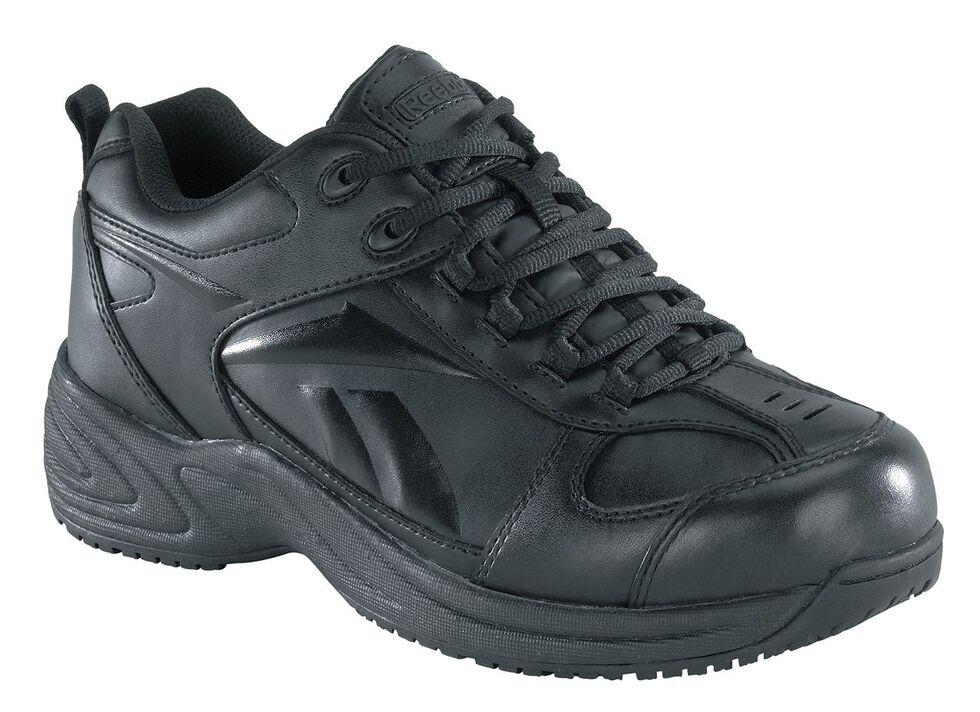 Reebok Women's Jorie Athletic Oxford Work Shoes, Black, hi-res