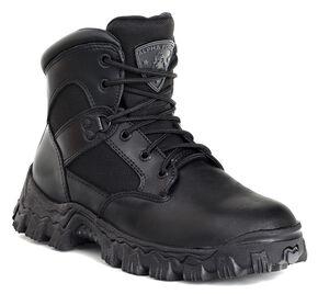 Rocky AlphaForce Waterproof Duty Boots - Safety Toe, Black, hi-res