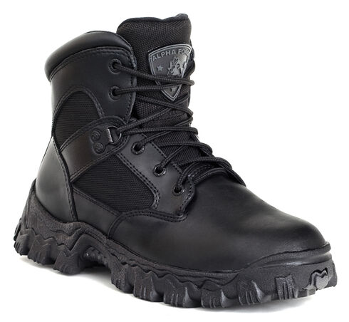 Rocky AlphaForce Waterproof Duty Boots - Safety Toe, Black, hi-res