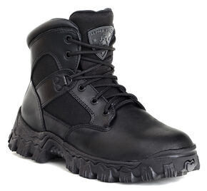 Rocky AlphaForce Waterproof Duty Boots - Composite Toe, Black, hi-res