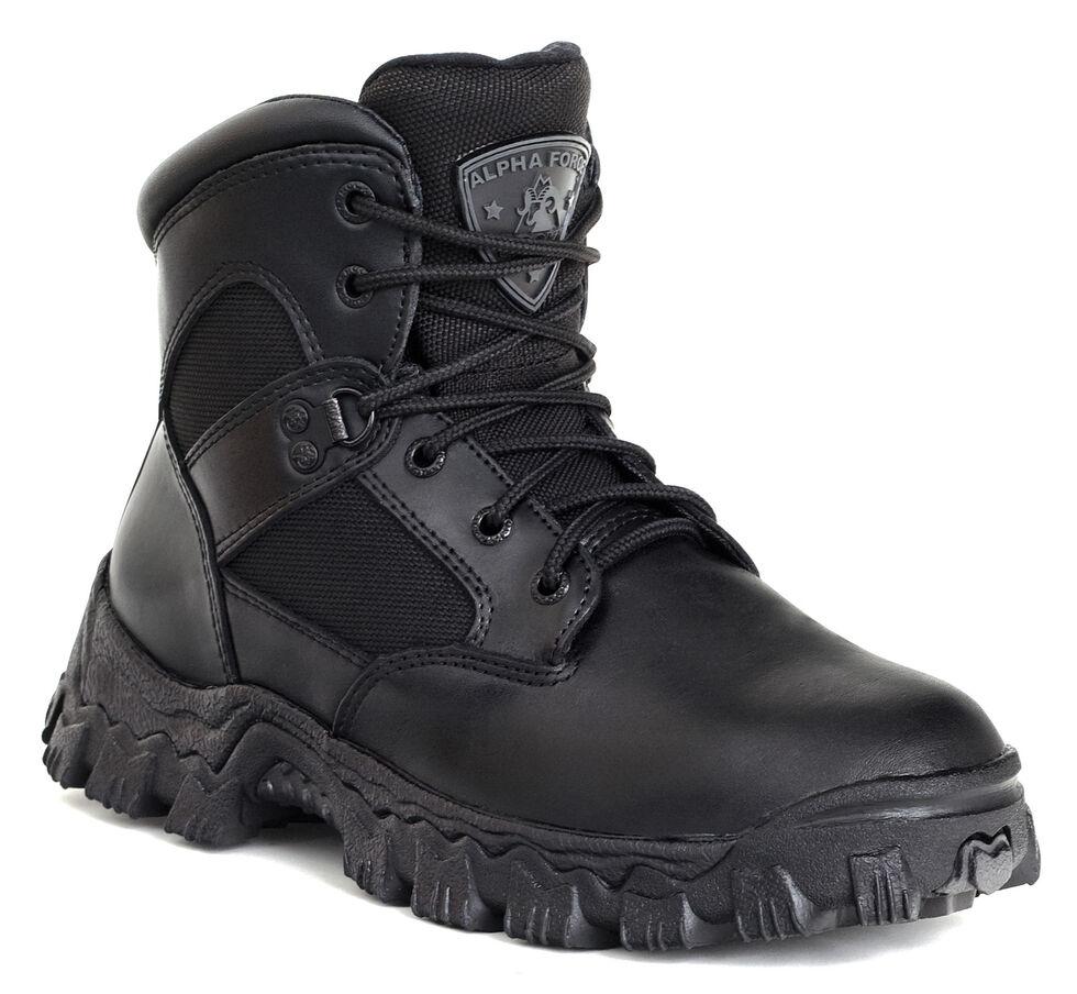 Rocky AlphaForce Waterproof Duty Boots - Composite Toe, Black, hi-res