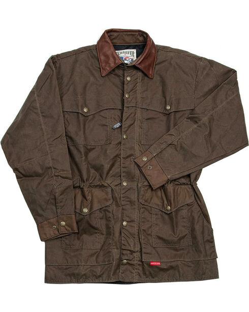 Schaefer Outfitter Men's Oak Rangewax High Plains Drifter Jacket , Dark Green, hi-res