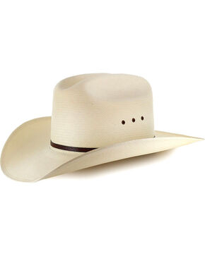 Moonshine Spirit 8X River Bank Straw Cowboy Hat, Natural, hi-res