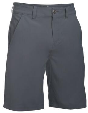 Under Armour Men's Fish Hunter Flat Front Shorts, Grey, hi-res