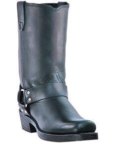 Dingo Jay Harness Boots - Snip Toe, Black, hi-res