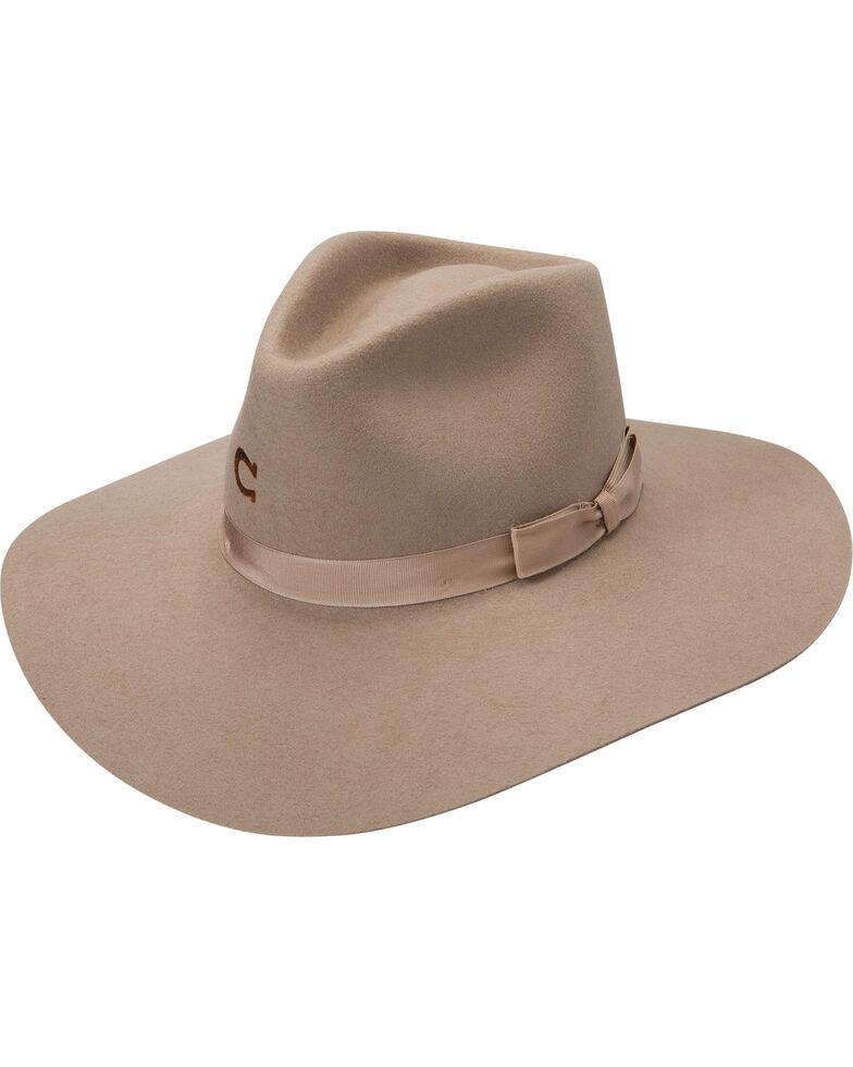 Charlie 1 Horse Women's Highway Springtime Felt Hat, Mushroom, hi-res